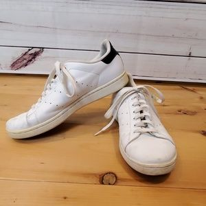 Adidas Stan Smith white blue shoes 10.5